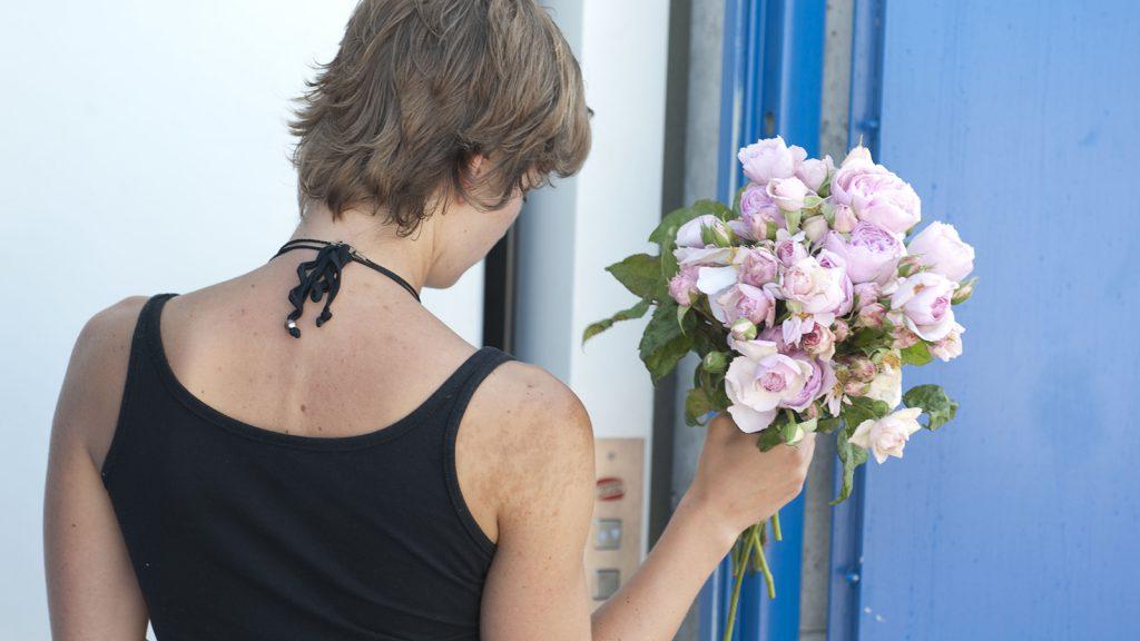 Blumen für die Braut